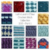 LLANCS 2015 PART 1 Crochet Tutorials