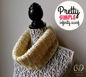 Pretty Simple Infinity Scarf Pattern
