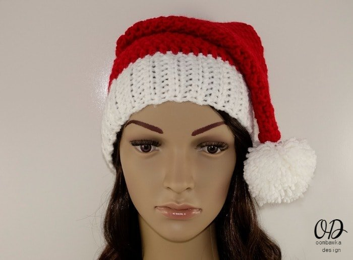 Free Crochet Pattern Santa Hats for Everyone