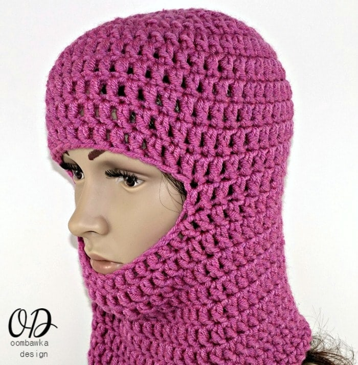 Warm Winter Ski Masks Free Pattern Oombawka Design Crochet