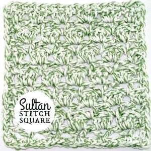 Sultan Stitch Tutorial and Free Pattern