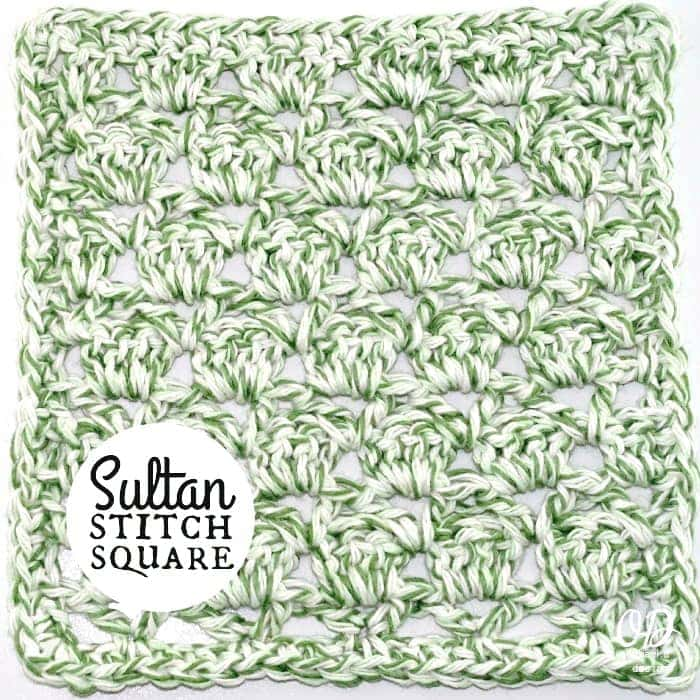 Sultan-Stitch-Square-Tutorial and Free Pattern - Cover-1