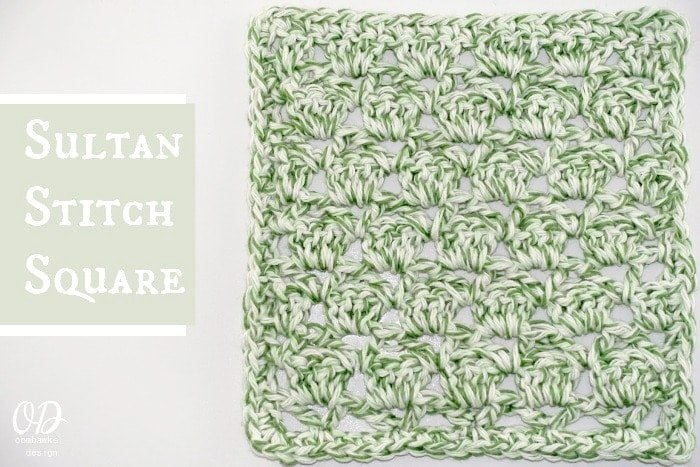 Sultan-Stitch-Square- Tutorial and Free Pattern