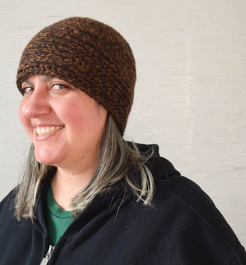 Under the Bridge Hat Free Crochet Pattern