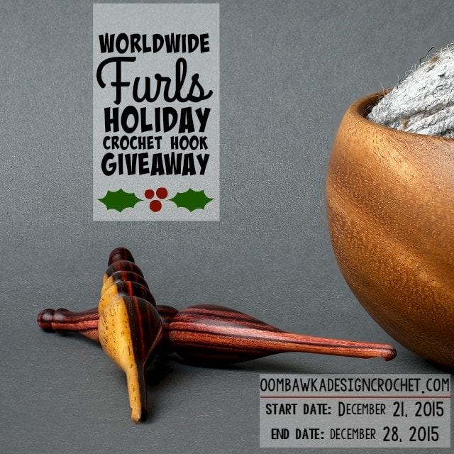 Worldwide Furls Holiday Crochet Hook Giveaway Event Cover Photo