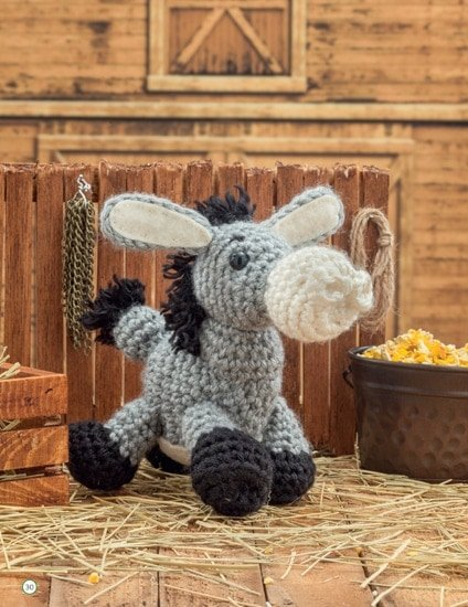 Donkey | Chick Crochet a Farm Book Review