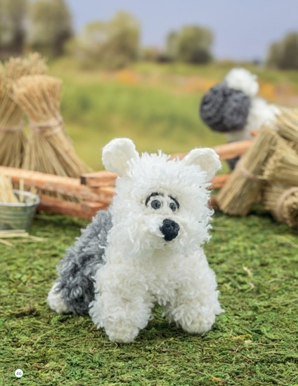 Sheep Dog | Chick Crochet a Farm Book Review