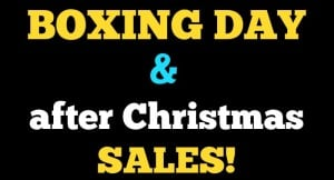 Boxing Day Sales Cover IMage