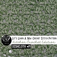 Sultan Stitch Square Dishcloth | LLANCS Kitchen Crochet Edition!