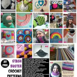 20 Free Patterns for Stash Busters