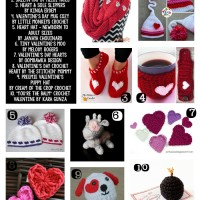 20 Free Crochet Patterns for Valentine's Day
