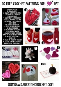 Free Valentines Day Crochet Patterns