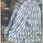 Blue & White Checkerboard- Contest Favorites 40 Afghans to Crochet