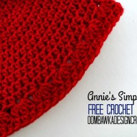 Annie's Simple Hat | Preemie to Adult | Free Pattern