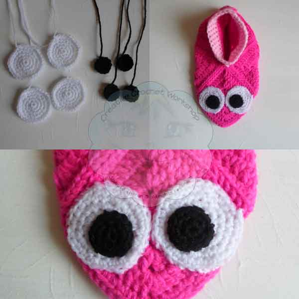 13 Granny Square Birdie Slippers Guest Post Joanita Theron Creative Crochet Workshop