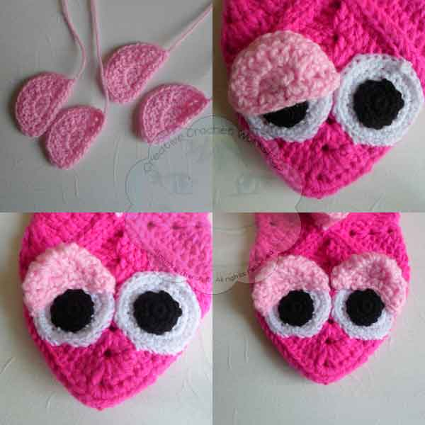14 Granny Square Birdie Slippers Guest Post Joanita Theron Creative Crochet Workshop