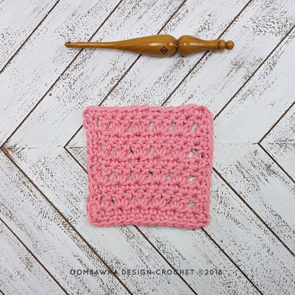 Cottage Twists Dishcloth Oombawka Design Crochet