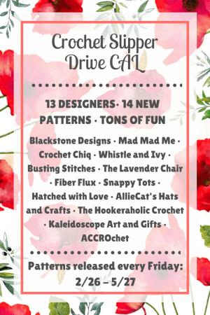 Crochet Slipper DRIVE - CAL