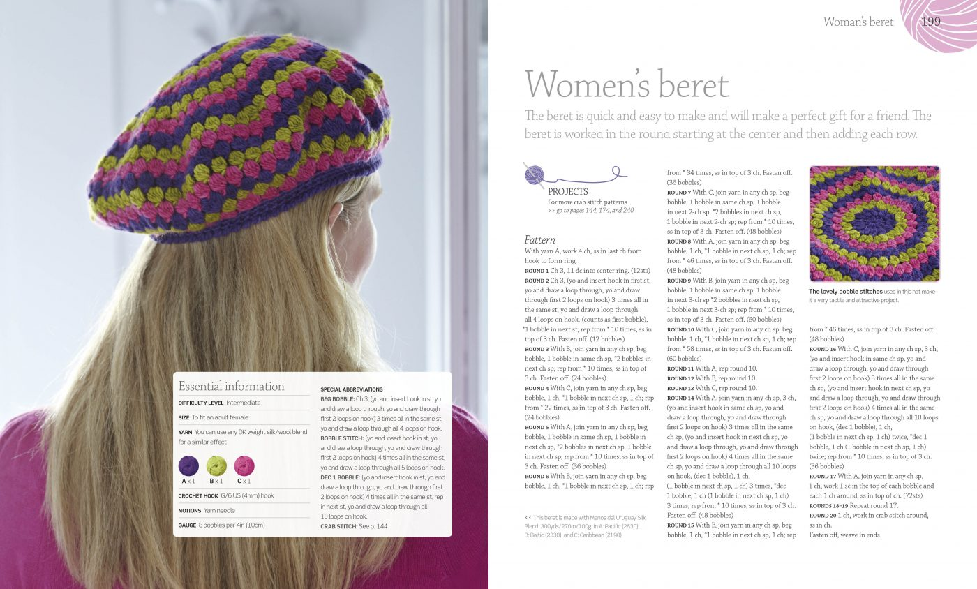 Crochet Womans Beret - DKCanada