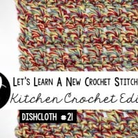 Cottage Twists Dishcloth Tutorial and Free Pattern