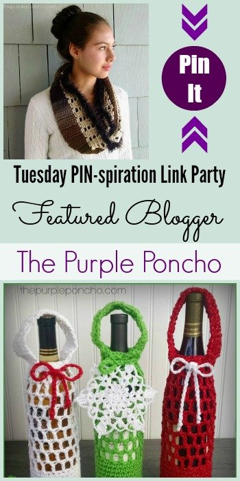 Tuesday PIN-spiration Link Party Featured Blogger - The Purple Poncho | www.thestitchinmommy.com