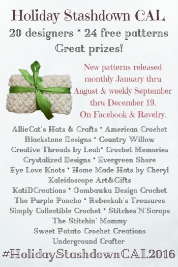 Holiday Stash Down CAL Underground Crafter