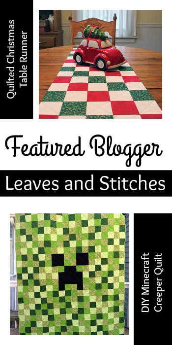 Leaves and Stitches Featured Blogger Tuesday PIN-spiration Link Party