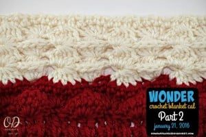 Wonder Crochet Blanket CAL Part 2