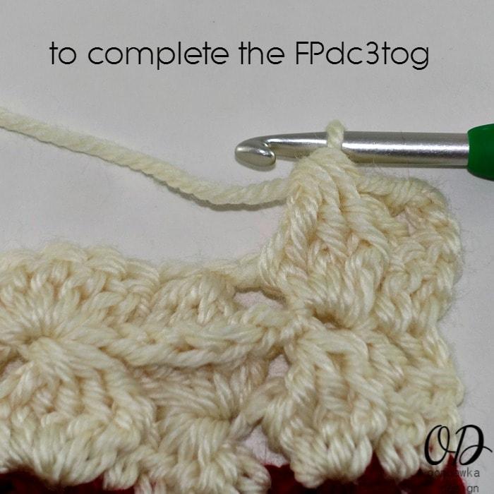 Step 11 R2 Part 2 Wonder Crochet Blanket CAL