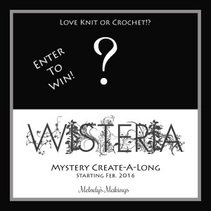 Wisteria Mystery Create-A-Long – GIVEAWAY Entries for 2