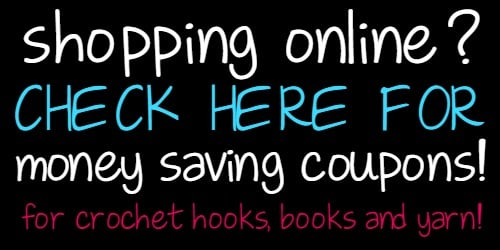 Shopping Online Check Here for Money Saving Coupons for Hooks Books and Yarn