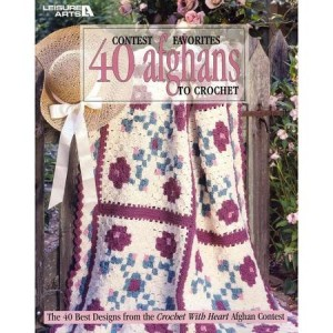 Contest Favorites 40 Afghans to Crochet. Book Review. Oombawka Design.