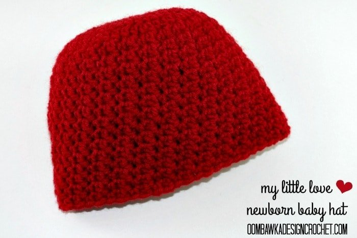 My Little Love Newborn Baby Hat Pattern