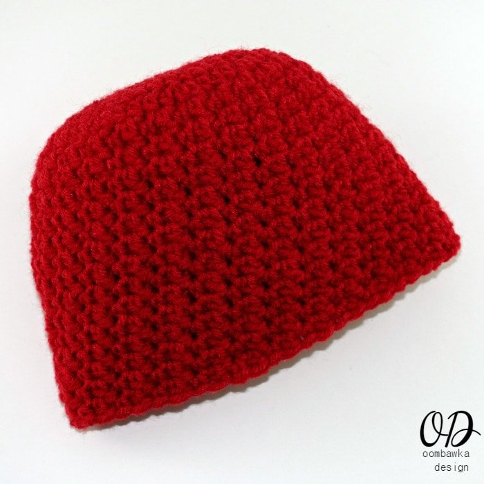 My Little Love Newborn Baby Hat Free Crochet Pattern