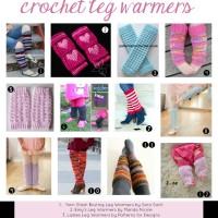 20 Free Crochet Patterns for Leg Warmers