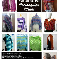 Free Pattern Friday 20 Free Crochet Patterns for Rectangular Wraps