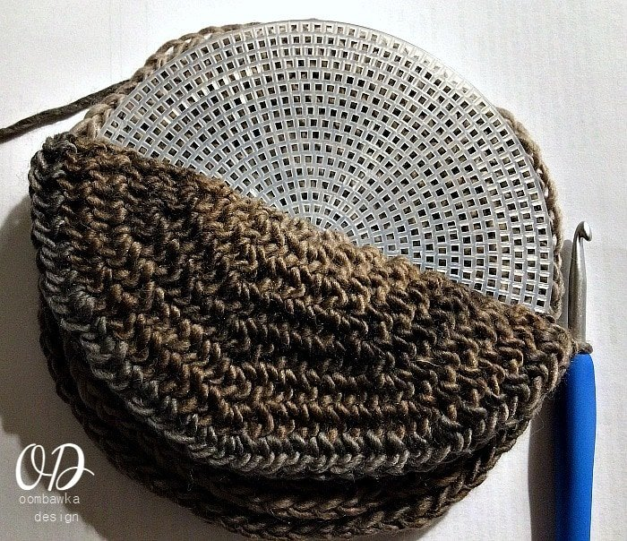 Base Assembly 3 - The Small Project Yarn Basket