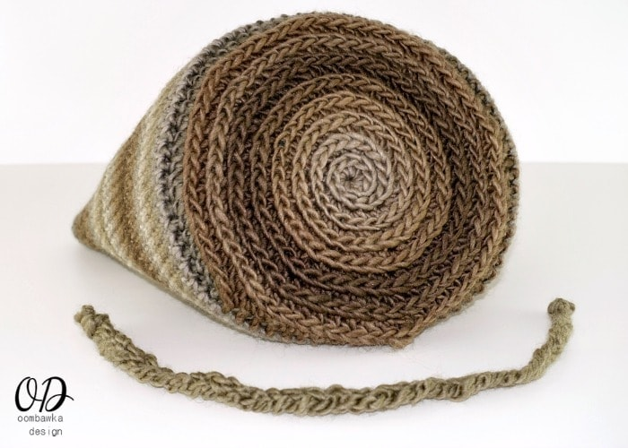 Bottom and Tie - The Small Project Yarn Basket