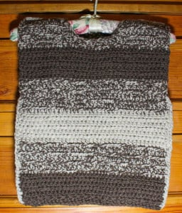 Wool-Aid - Childs Ombré Pullover Vest free crochet pattern by Underground Crafter
