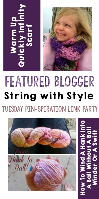 Featured Blogger - Tuesday PIN-spiration Link Party- String with Style