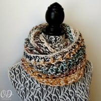 February Elemental Infinity Scarf – Scarf of the Month Club!