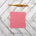Herringbone Crochet Dishcloth - Oombawka Design Crochet