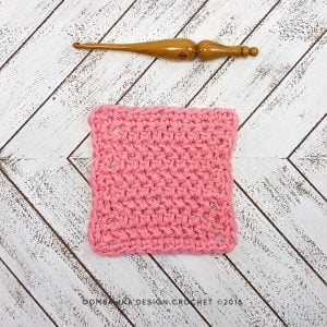 Herringbone Stitch Dishcloth | Free Pattern and Tutorial