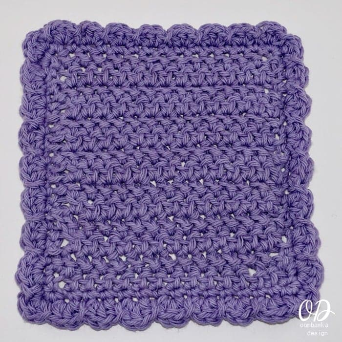 Herringbone-Stitch-Dishcloth