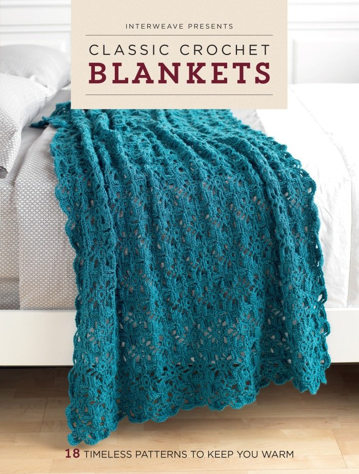 Classic Crochet Blankets Book Review - Cover
