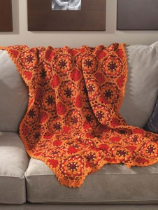 Kaleidoscope Afghan - Classic Crochet Blankets Book Review