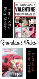 PIN-spiration Link Party - Rhonddas Picks The Crafty Blog Stalker and Everyday Made Fresh