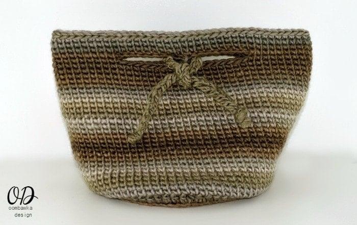 The Small Project Basket - Free Pattern - Small Purse