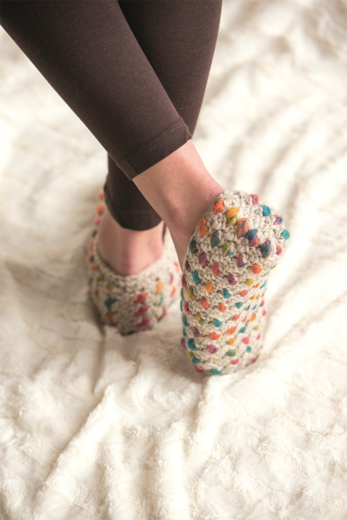 Thrummed Slippers 4 - Approved Excerpt Cold Weather Crochet
