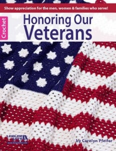 Cover - Honoring Our Veterans Leisure Arts dot com